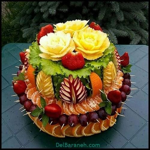 تزیین میوه شب چله (۱۵)