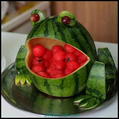 تزیین میوه شب چله (۴)