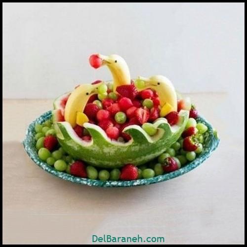 تزیین میوه شب چله (۶)