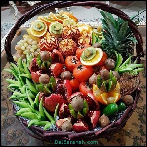تزیین میوه شب چله (۷)