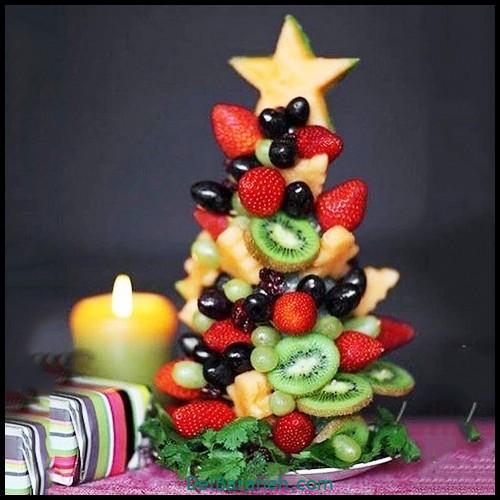 تزیین میوه شب یلدا (۱)