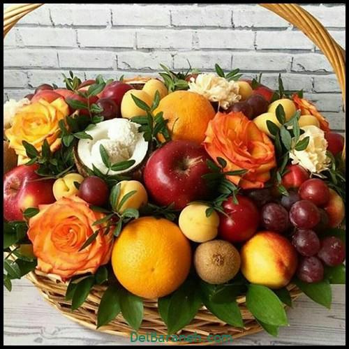 تزیین میوه شب یلدا (۲)
