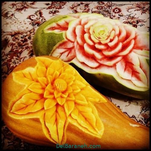 تزیین میوه شب یلدا (۹)