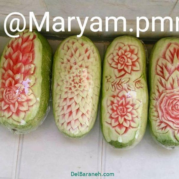 تزیین میوه یلدا (۱۴)
