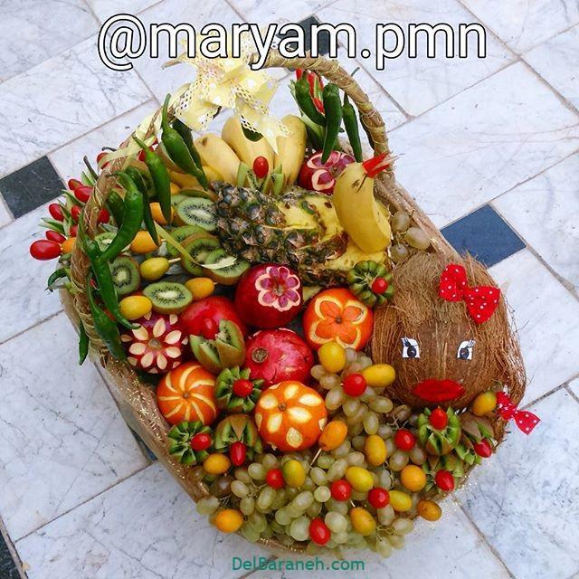تزیین میوه یلدا (۲۵)