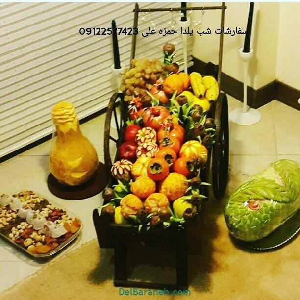 تزیین میوه یلدا (۳۱)