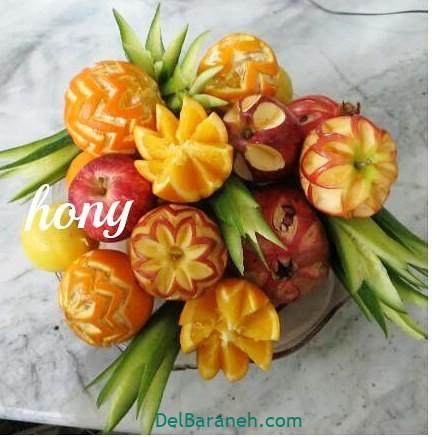 تزیین میوه یلدا (۳۶)