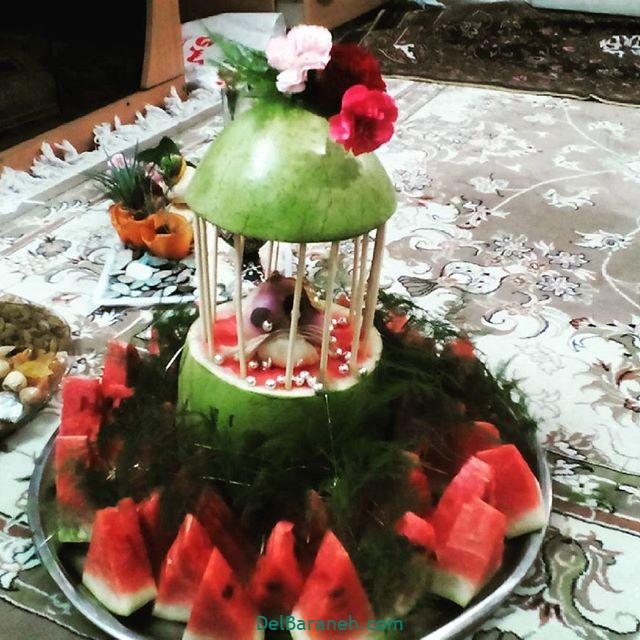 تزیین میوه یلدا (۳۸)