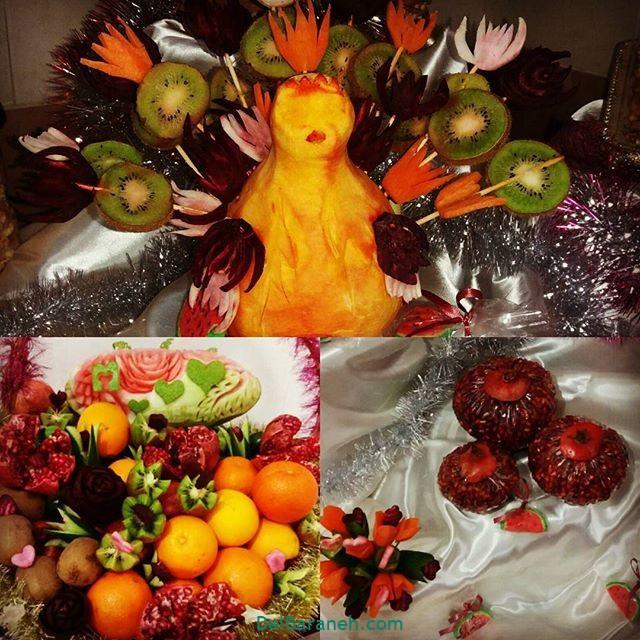 تزیین میوه یلدا (۴۴)