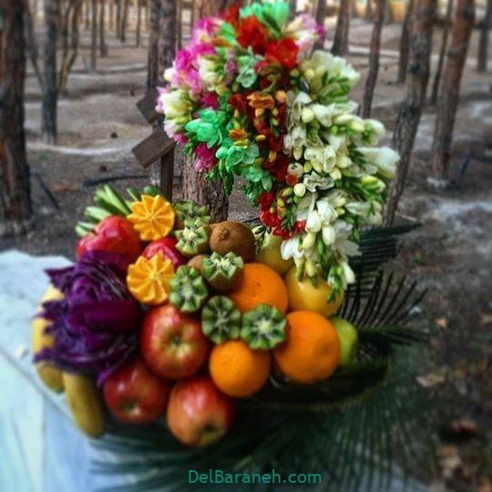 تزیین میوه یلدا (۵۱)