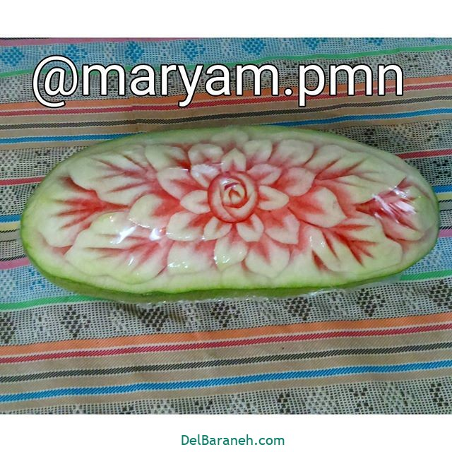 تزیین میوه یلدا (۷)
