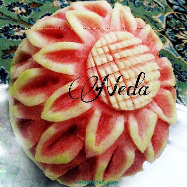 تزیین میوه یلدا (۸)