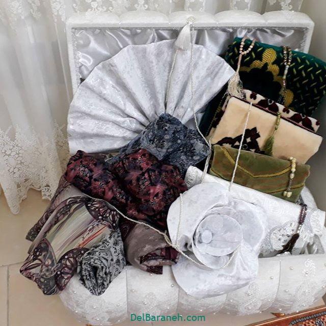 تزیین چادر عروس بله برون (۱۰)