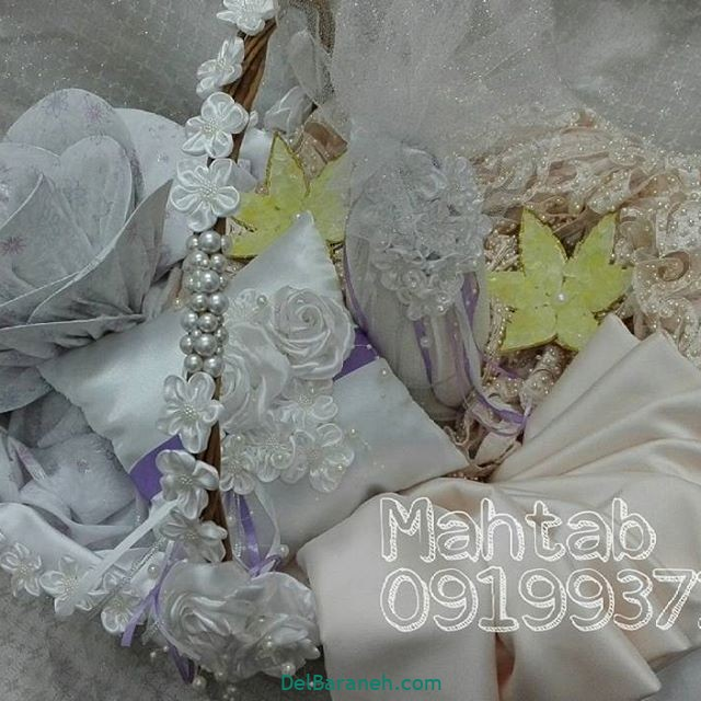 تزیین چادر عروس بله برون (۱۳)