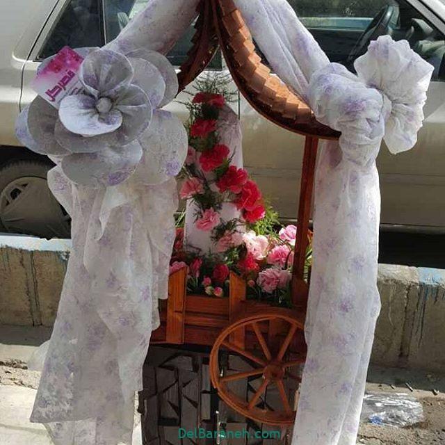 تزیین چادر عروس بله برون (۲۱)