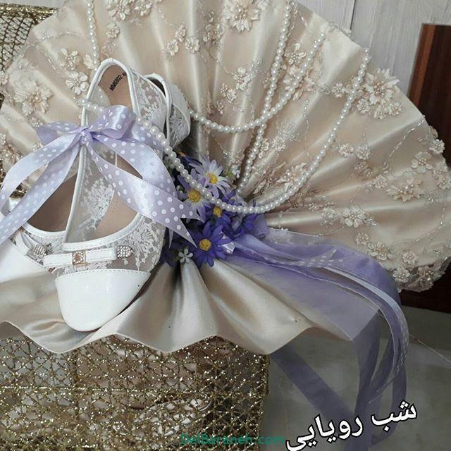 تزیین چادر عروس بله برون (۳)