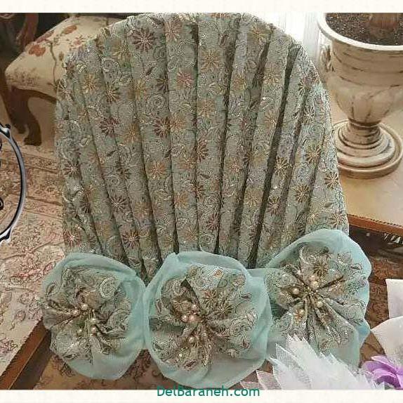 تزیین چادر عروس بله برون (۴)