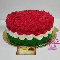 تزیین کیک یلدا | ۴۰ مدل زیبا و بامزه تزیین کیک شب یلدا به شکل انار و هندوانه