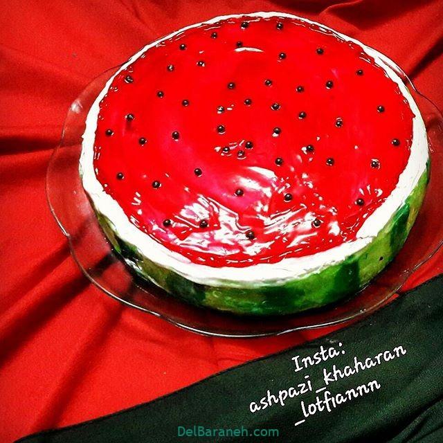 تزیین کیک یلدا (۱۲)