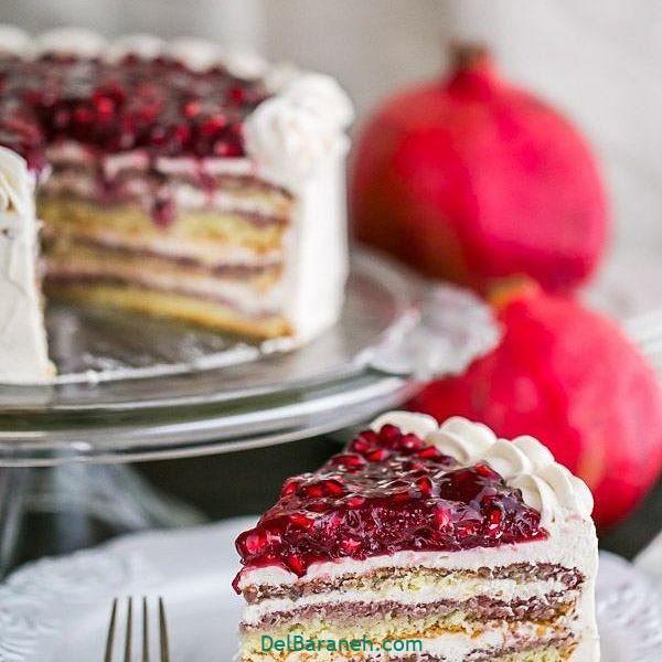 تزیین کیک یلدا (۱۵)