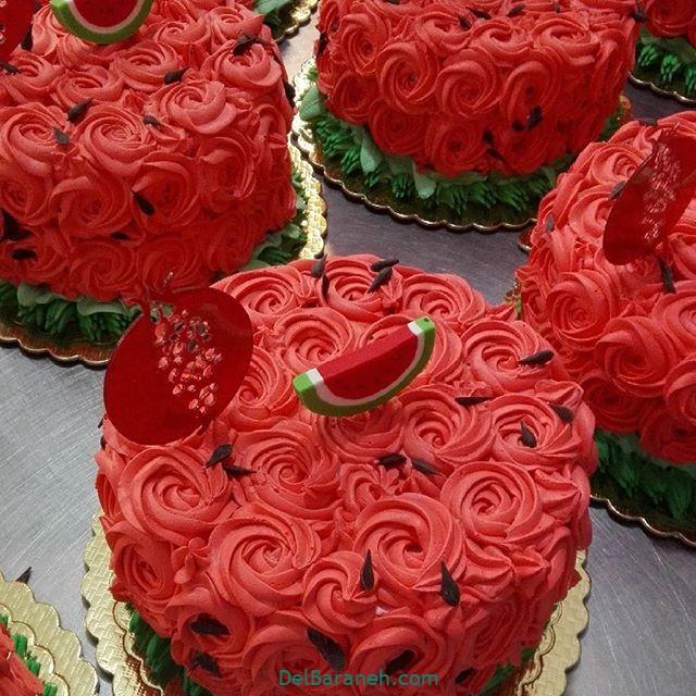 تزیین کیک یلدا (۱۷)