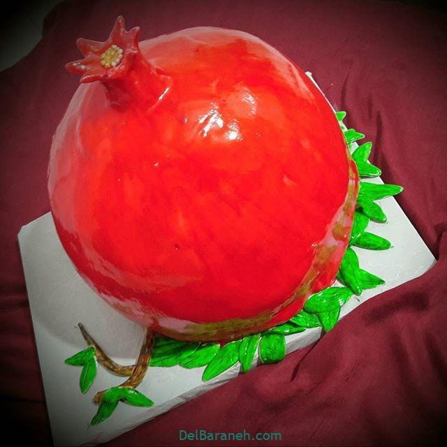 تزیین کیک یلدا (۱۸)