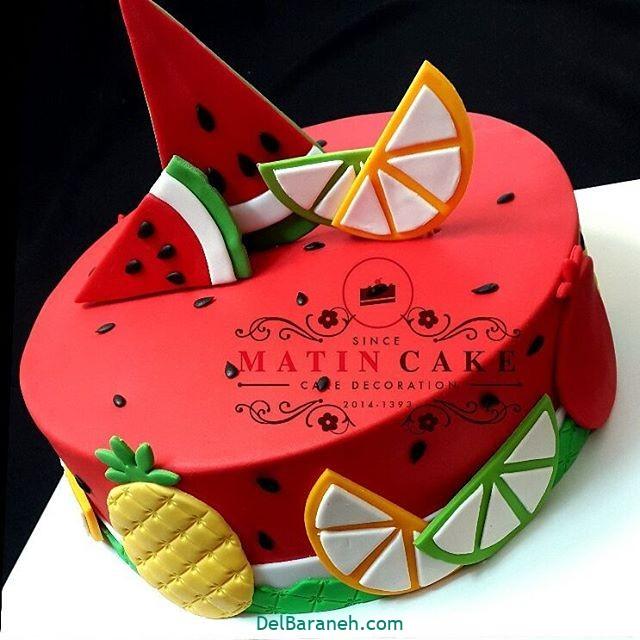 تزیین کیک یلدا (۱۹)