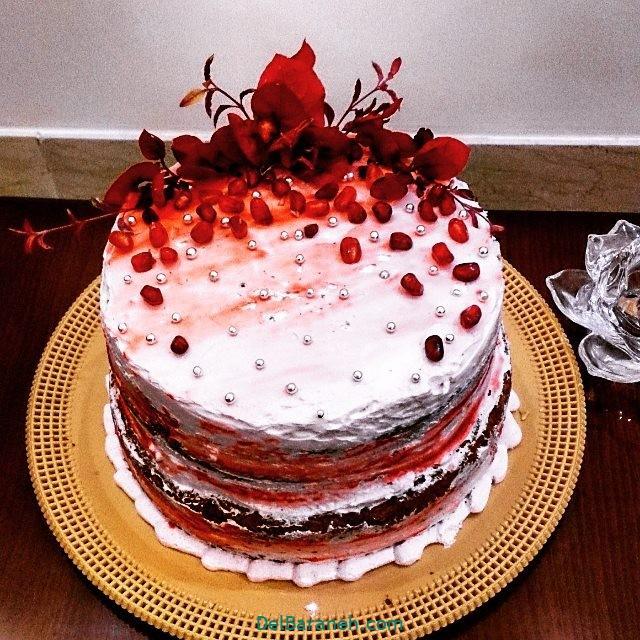تزیین کیک یلدا (۲۴)