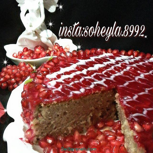 تزیین کیک یلدا (۲۵)