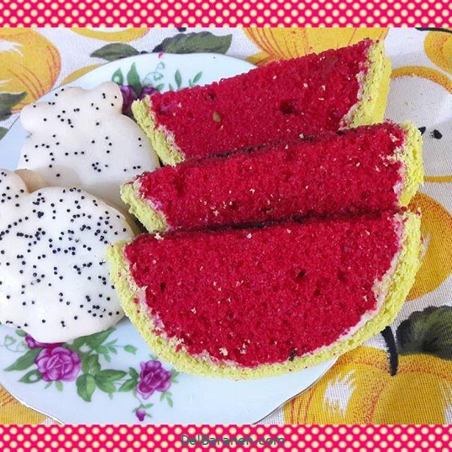تزیین کیک یلدا (۲۷)
