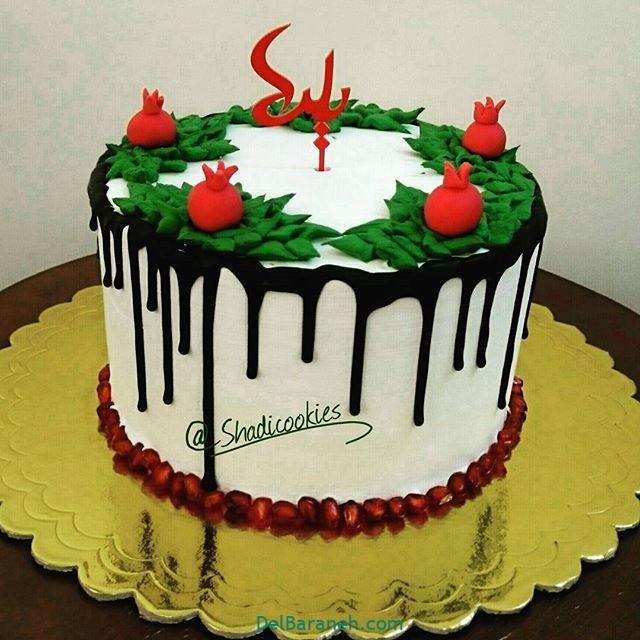 تزیین کیک یلدا (۳۰)