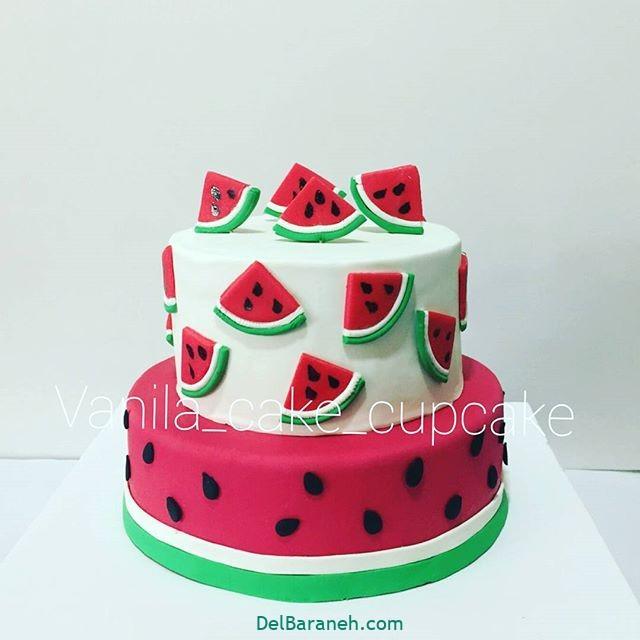 تزیین کیک یلدا (۳۱)