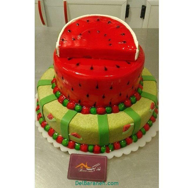 تزیین کیک یلدا (۳۲)