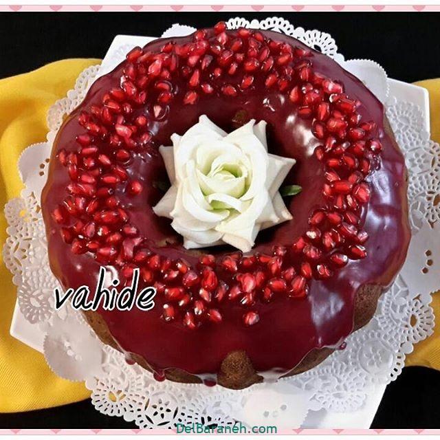 تزیین کیک یلدا (۳۶)