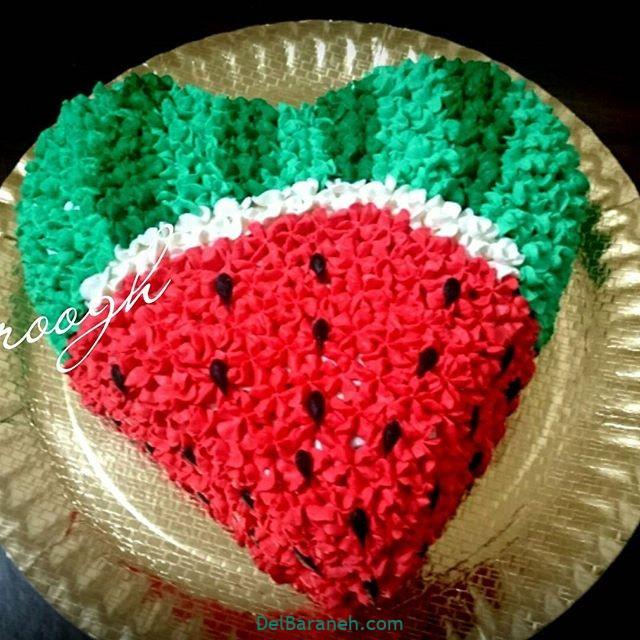 تزیین کیک یلدا (۳۷)