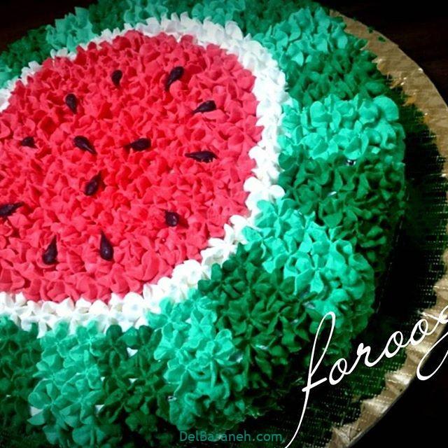 تزیین کیک یلدا (۳۹)