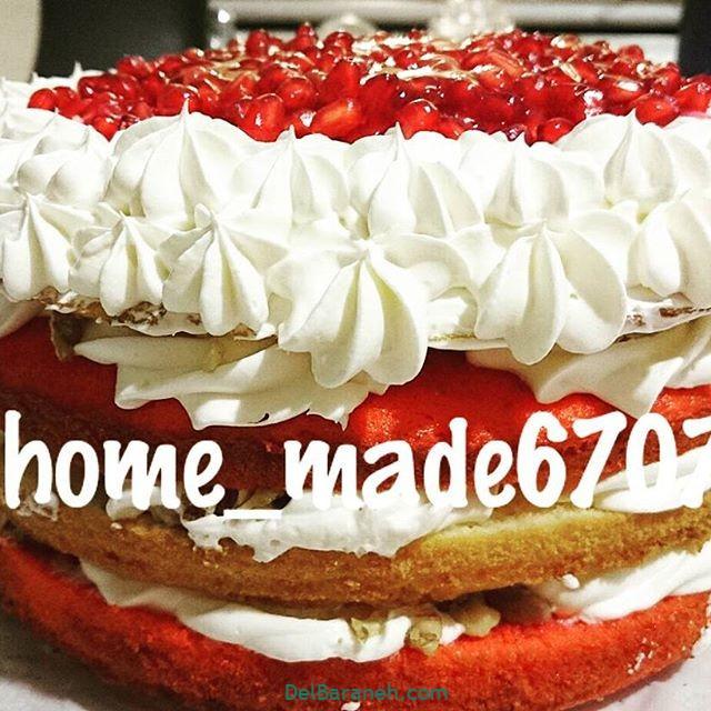 تزیین کیک یلدا (۴۰)