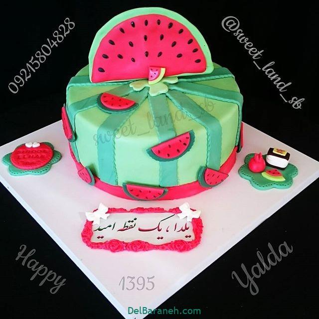 تزیین کیک یلدا (۴۲)