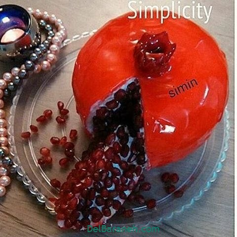 تزیین کیک یلدا (۴۳)