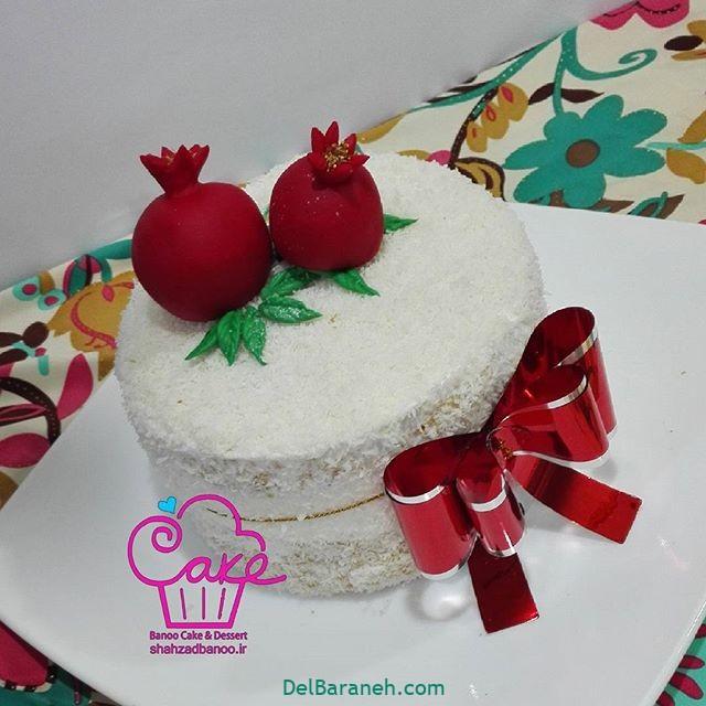 تزیین کیک یلدا (۴۵)