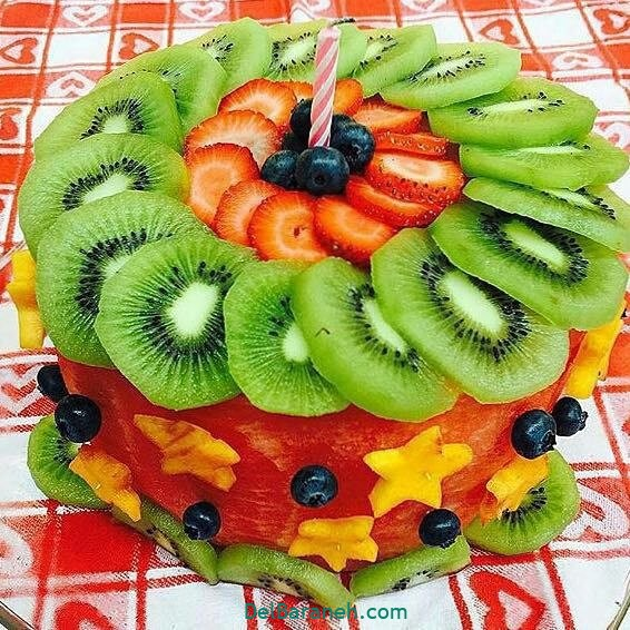 تزیین کیک یلدا (۵)