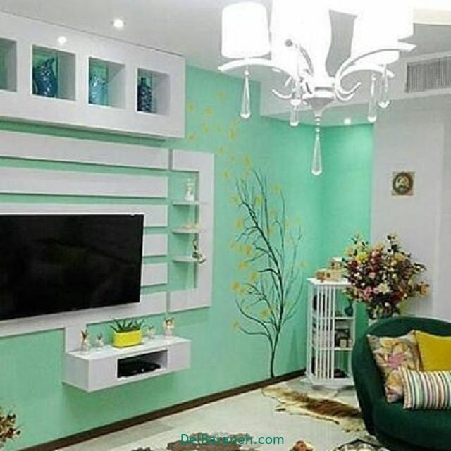 رنگ پذیرایی رنگ اتاق خواب (۱)