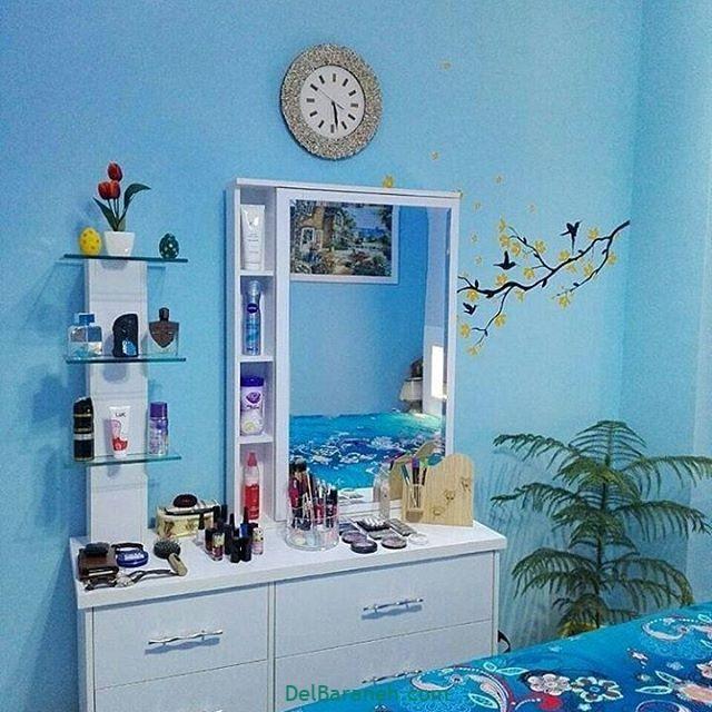 رنگ پذیرایی رنگ اتاق خواب (۶)