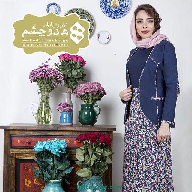 سارافون کت دخترانه سنتی (۱۰)