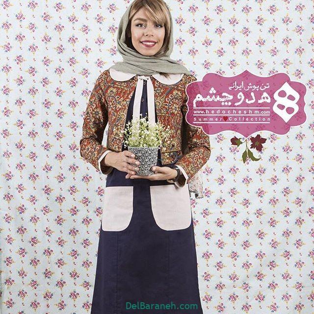 سارافون کت دخترانه سنتی (۲)