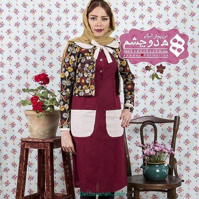 سارافون کت دخترانه سنتی (۳)