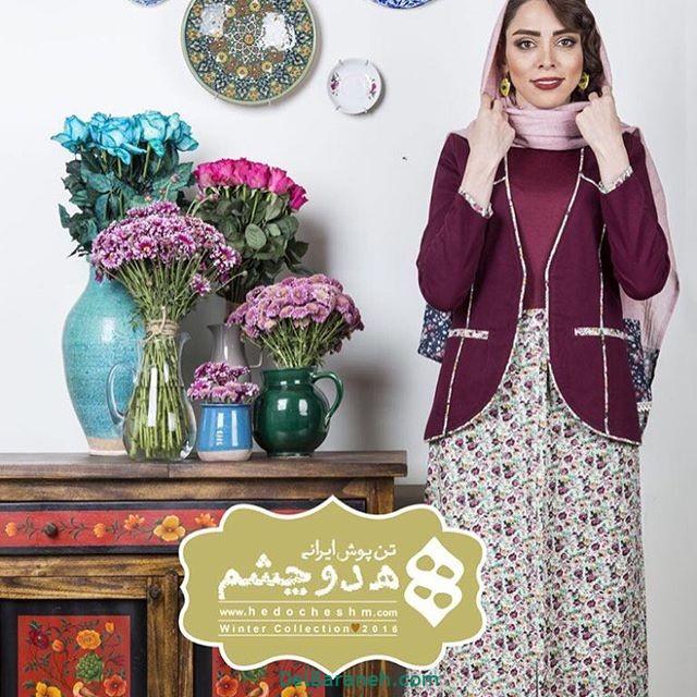 سارافون کت دخترانه سنتی (۵)