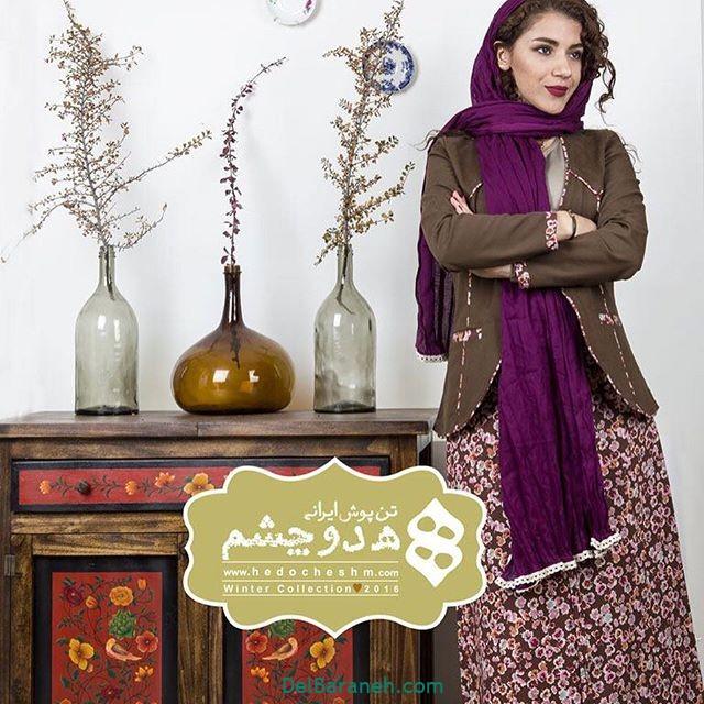 سارافون کت دخترانه سنتی (۶)