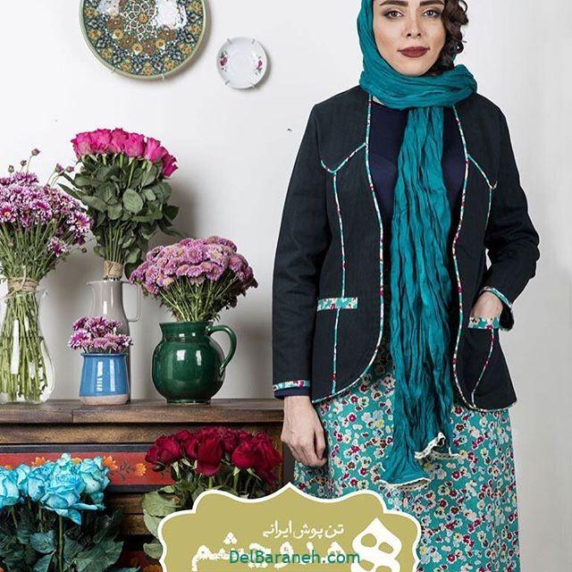 سارافون کت دخترانه سنتی (۷)