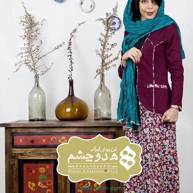 سارافون کت دخترانه سنتی (۸)